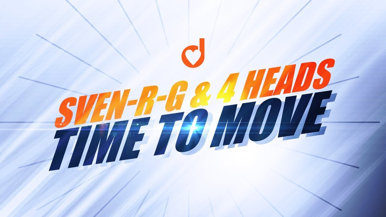 Download Sven-R-G & 4 Heads - Time To Move (*1997)