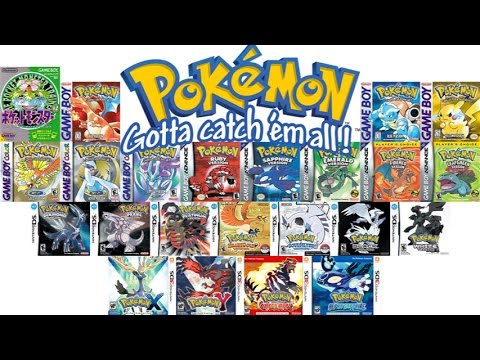 all pokemon games for ds
