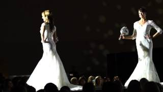 Stunning Couture Bridal Gowns. Bridal Spectacular Fashion Show.
