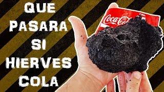 Miren lo que pasa cuando hierves la coca cola - Boil Coke (Experimentar En Casa)