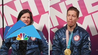 Five time Olympian Kelly Clark praises Shaun White's career