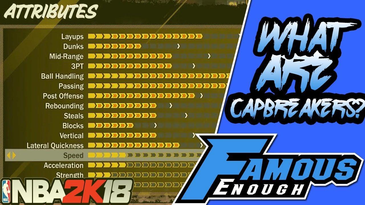 NBA 2K TIPS: WHAT ARE CAP BREAKERS??