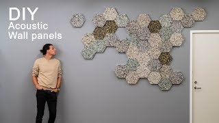 How to make acoustic wall panels