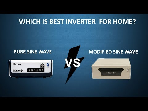 Which is best inverter for home? Modified sine wave vs. pure sine wave