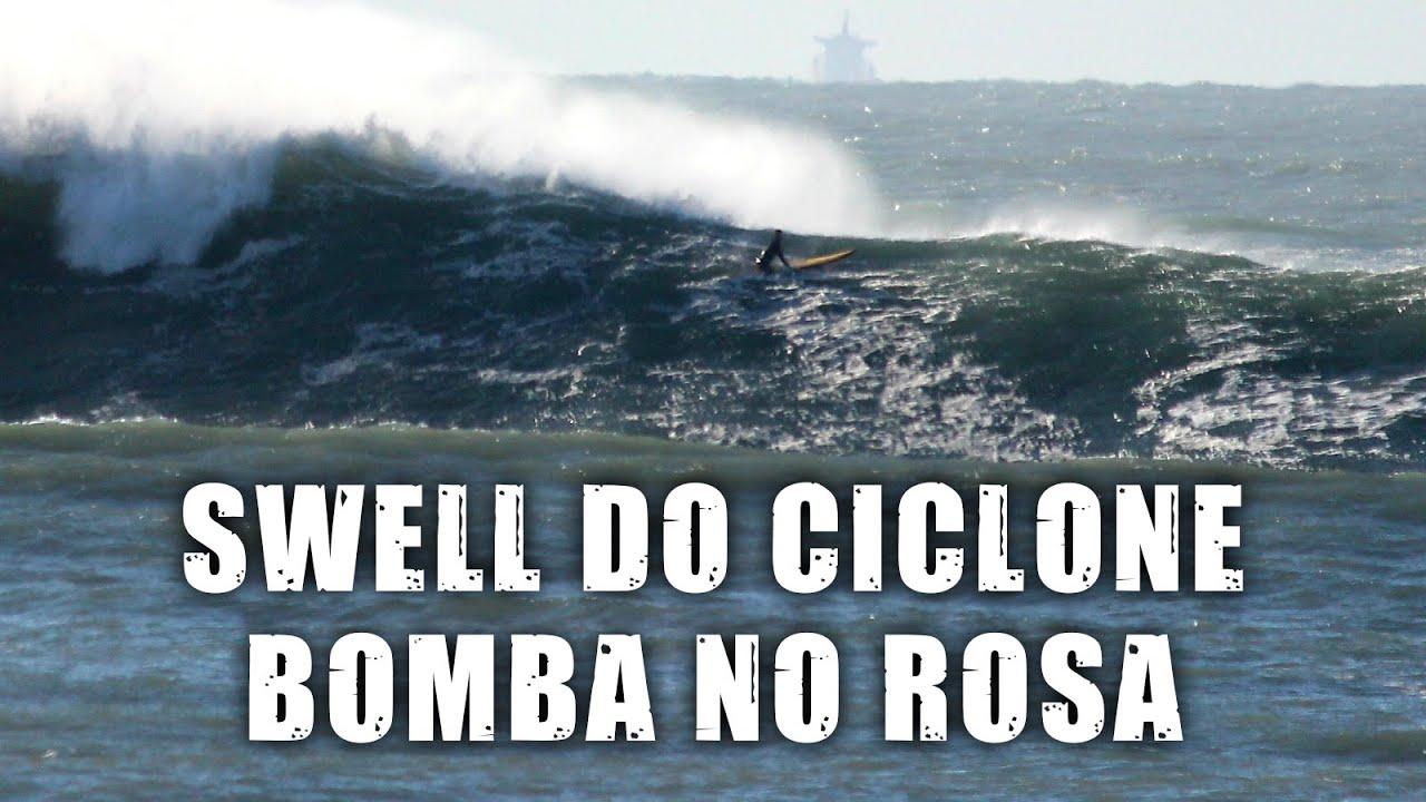 Swell do Ciclone Bomba no Rosa (SC) - Vlog SURFE TV #49