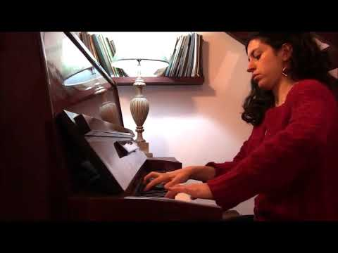 Andrea Ameida  interpreta: Impromptu de Franz Schubert