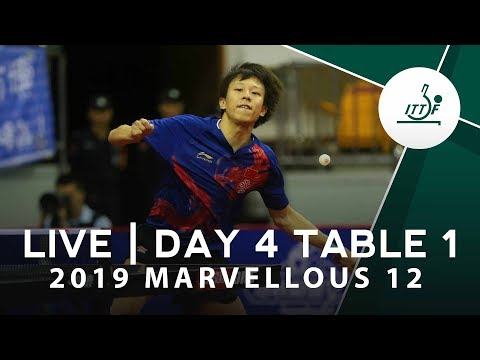 2019 Marvellous 12   Day 4 - Table 1 Session 2