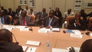 VITAL KAMERHE invité par Radio Okapi: Rapport sur le Sommet de Washington