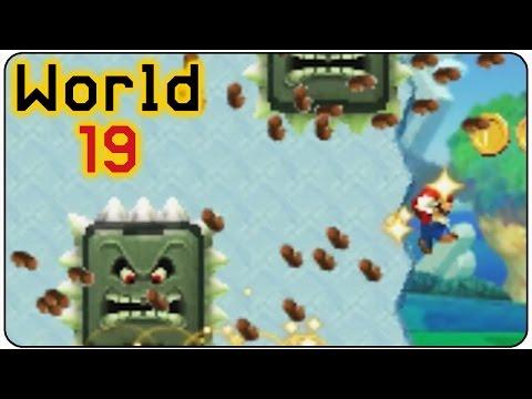 Super Mario Maker 3DS - 100% Walkthrough - World 19 All Medals