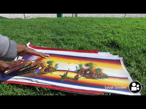Daniel - Artist from Malawi in Cape Town