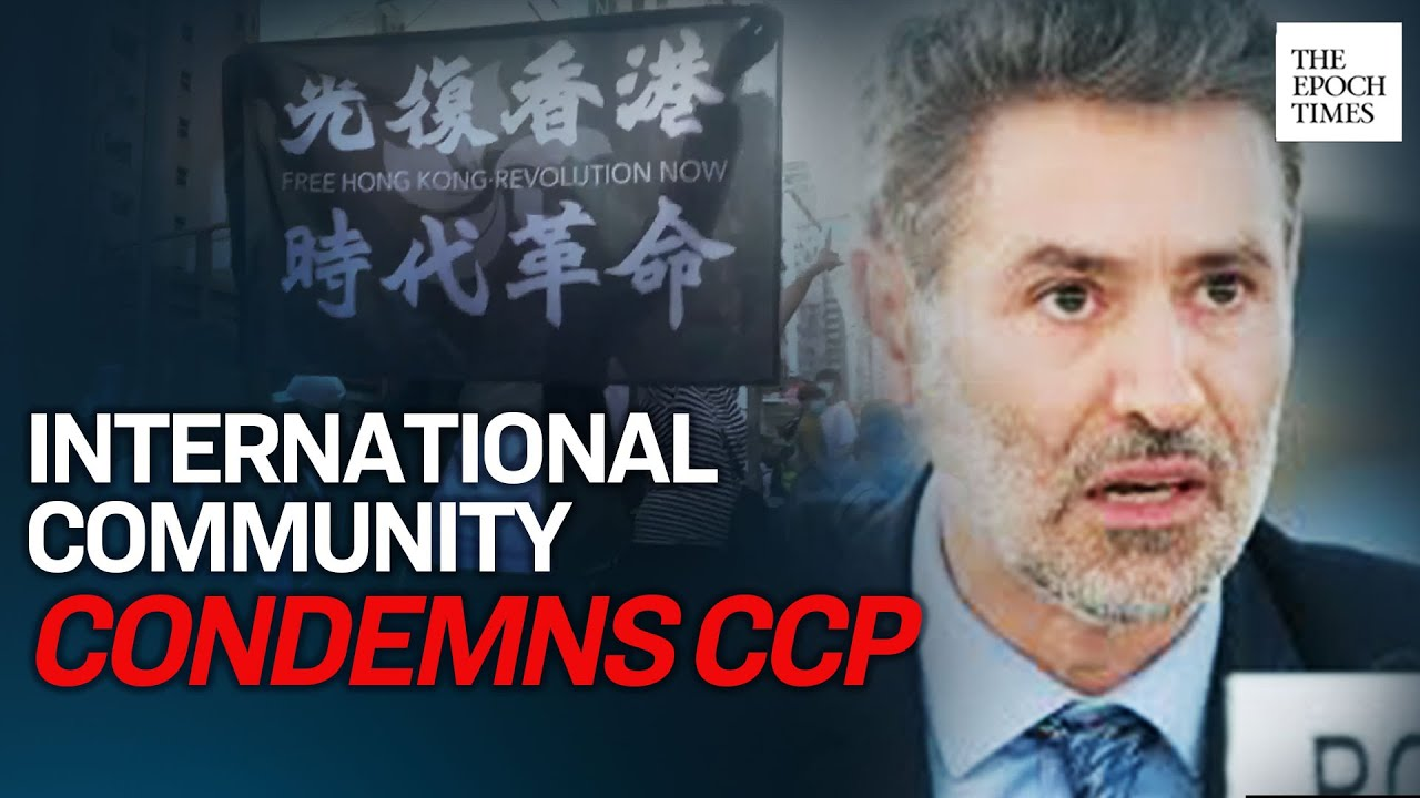 News Report International Community Condemns HK National Security Law, Supports HK | Epoch News