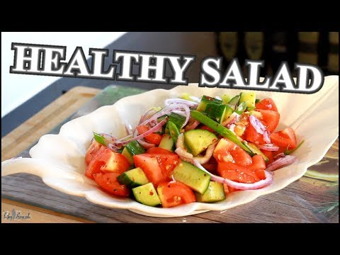 HEALTHY WEIGHT LOSS SALAD RECIPE | Chef Ricardo Cooking