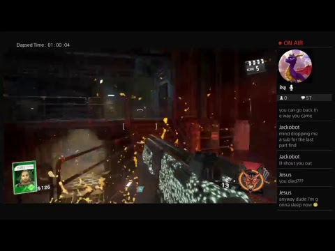 Call of Duty Infinite Warfare Zombies The Beast from Beyond First Attempt/ Cryptid Scrubs