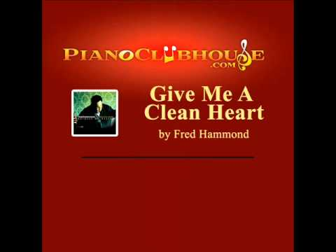 ♫ GIVE ME A CLEAN HEART (Instrumental/Performance Track by PianoClubhouse.com) ♫