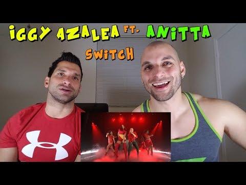 Iggy Azalea ft. Anitta: Switch [REACTION]