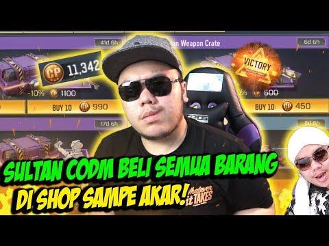 SULTAN CODM BORONG SEMUA SENJATA DI SHOP!! - CALL OF DUTY MOBILE INDONESIA
