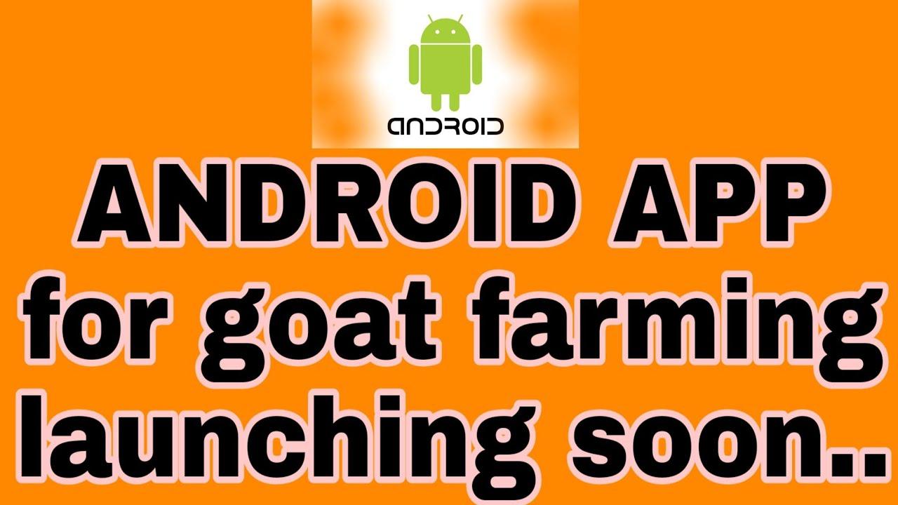 goat farming launching soon