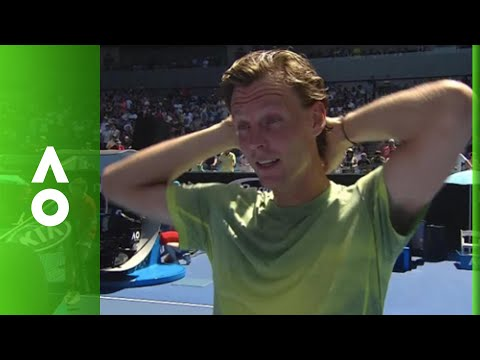Tomas Berdych on court interview (4R) | Australian Open 2018