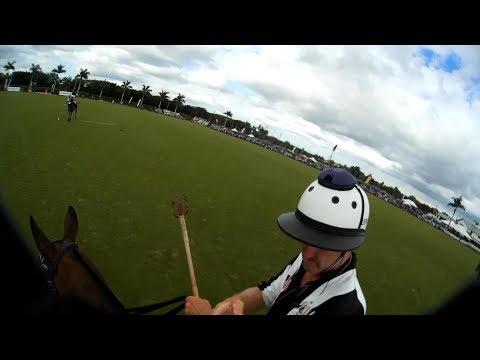 US Open Polo Championships  Palm Beach FL   Umpires helmet camera