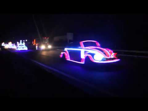 Classic VW BuGs Presents a Beetle Highway Christmas Festival Lights Convoy
