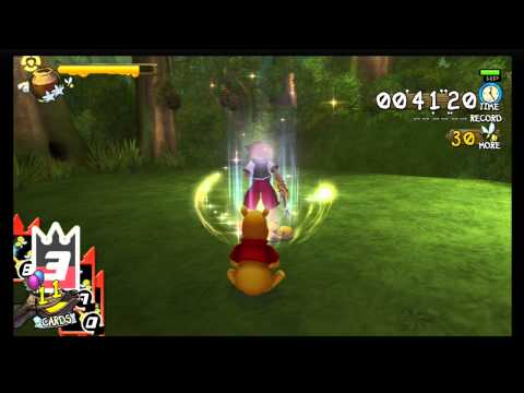 Kingdom Hearts 1.5 HD - Chain of Memories Easy Bee Buster Trophy
