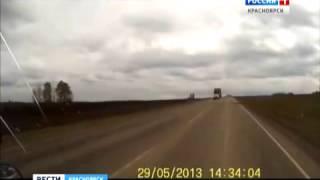 В ДТП на трассе Красноярск-Енисейск погибла женщина