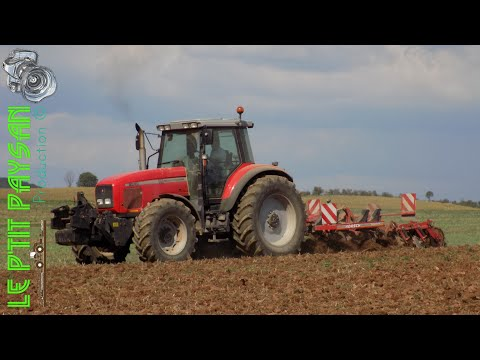Déchaumage 2017 | Mythique MF 8240 & Horsch Terrano 3.5 FX !