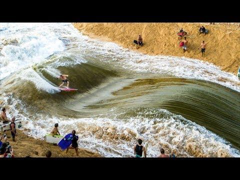 ALL TIME WAIMEA RIVER SURFING | Jamie O'Brien