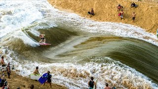 ALL TIME WAIMEA RIVER SURFING | Jamie O'Brien
