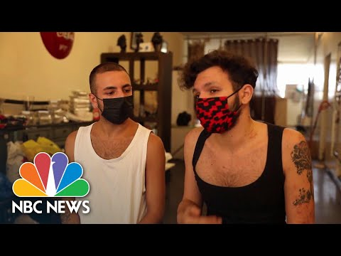 Beirut LGBTQ Community Comes Together After Deadly Blast | NBC News NOW