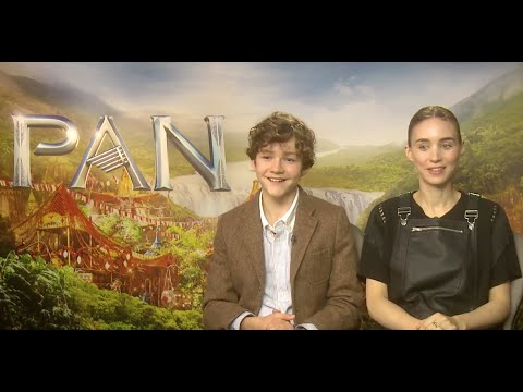 Levi Miller Leads Cast Talking About Pan And Having Fun On Set.