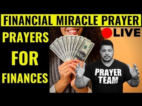 ( ONLINE PRAYER LIVE ) Prayer For Your Financial Breakthrough - Financial Miracle Prayer