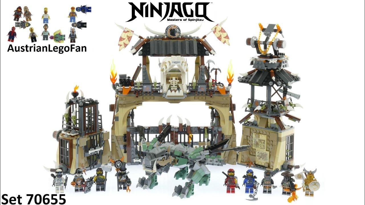 Lego Ninjago 70655 Dragon Pit - Lego Speed Build Review