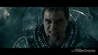 Superman man of steel end fight full HD video