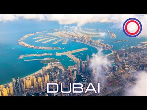 DUBAI from drone 4K