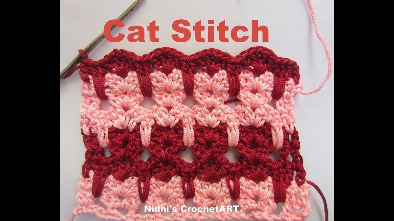 Cat Lover Blanket - Baby Afghan Crochet Pattern - Presentation ...   720x1280