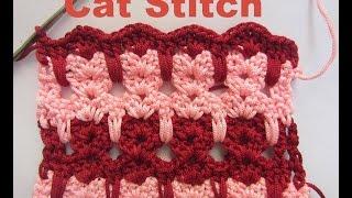 How To Crochet- CAT Stitch Tutorial
