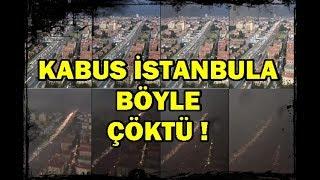 Kabus İstanbul Üzerİne bÖyle ÇÖktÜ !  gÜndÜz gece oldu-sİtanbul-dolu-felaket-kabus-cevİz-