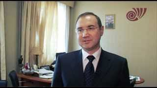 Поздравление ректора А.Ю.Шатина с 36ти летием ЧелГУ