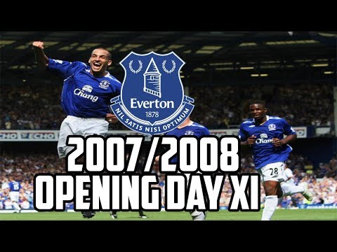 Where Are They Now? Everton's 2007/08 Opening Day XI