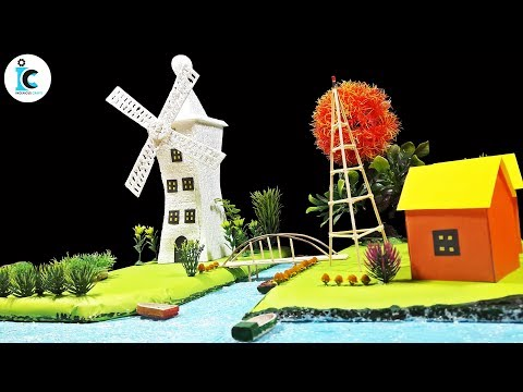 Wind Turbine Energy For Village School Project Renewable Energy School Project