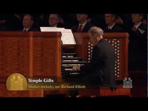 Simple Gifts (Organ Solo) - Mormon Tabernacle Choir