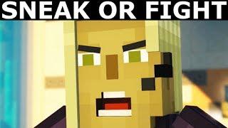Retrieve Petra's Sword From Stella - Alternative Choices - Minecraft: Story Mode Season 2 Episode 1