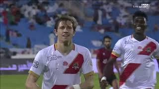 ملخص أهداف مباراة الرائد 3-2 الوحدة  | الجولة 9 | دوري الأمير محمد بن سلمان للمحترفين 2019-2020