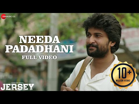 Needa Padadhani Full Video  Jersey  Nani, Shraddha Srinath  Anirudh Ravichander  Darshan Raval