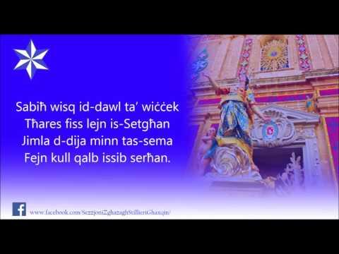 Innu Sabiħa - Santa Marija Għaxaq - Lyrics