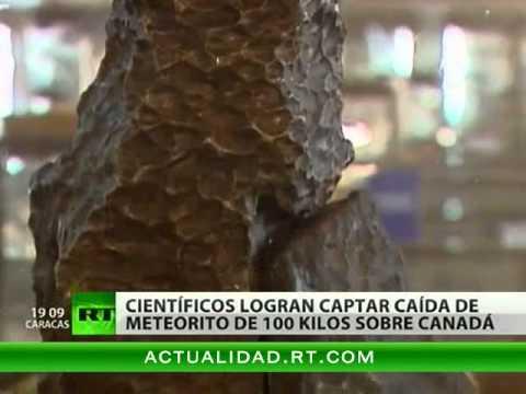 Cae Un Meteorito De 100 Kilogramos En Canadá