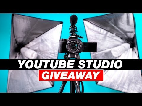 Win a Camera and YouTube Video Studio! (Camera Giveaway)