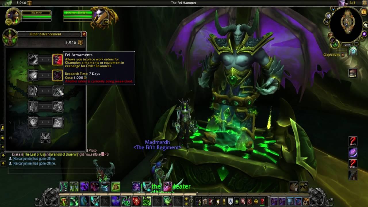 Optimized Demon Hunter Class Order Hall Guide For Maximum Profit Youtube