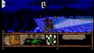 BC Racers (3DO) - Game Play